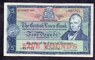 5 Pounds From Scotland 1964