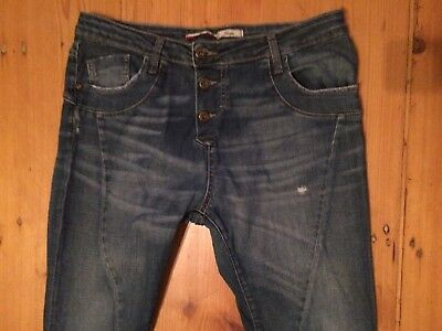 PLEASE P78  Jeans  Gr. Large  L 40   TOP   Koll.16  Knackarsch