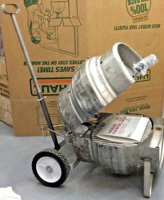 New Coors Beer Quarter Barrel Keg Grill Recycled From  Coors Light Keg New
