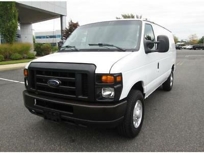 2010 Ford E-Series Van E-150 2010 Ford E-150 Cargo Van White Extra Clean 1 Owner Great Buy Ready To Work