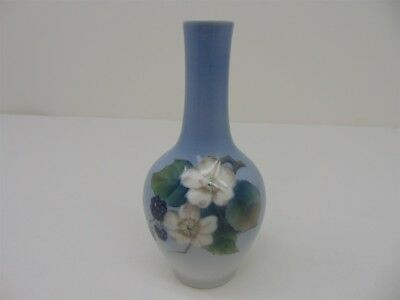 Vintage Royal Copenhagen Blackberries 288 43A Porcelain Bud Vase