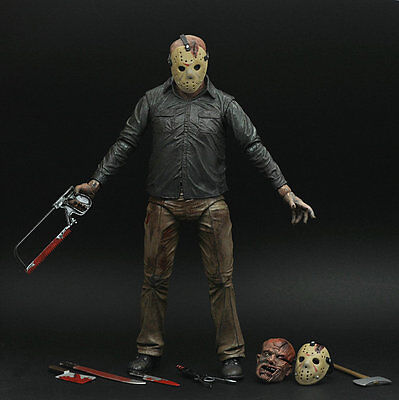 """Friday the 13th Final Chapter JASON VOORHEES 7"""" Ultimate Auction Loose Figure"""