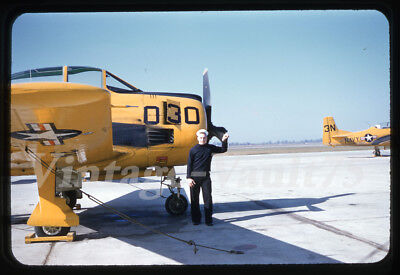 Original Slide United States U.s. Navy Military Aircraft Kodachrome 1950's