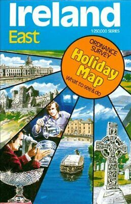 Ireland (East) Holiday Map: East No. 3 by Ordnance Survey Sheet map Book The