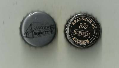 US/Canada 2 Variety caps Beer Micro Brewery Montreal Quebec Canada