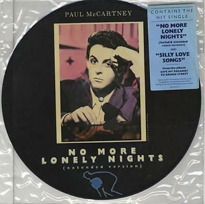 """Paul McCartney and Wings No More Lonely ... USA 12"""" vinyl picture disc record"""
