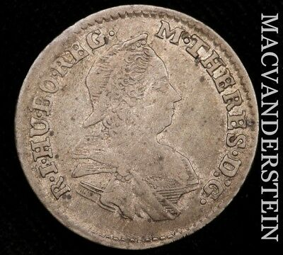 Hungary: 1779 Three Krajczar- Scarce !! Better Date !! #w811