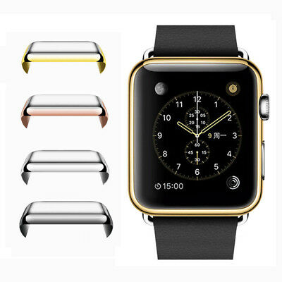For Apple Watch 1/2/3 38/42mm Slim Full Body Cover Snap On Case Screen Protector