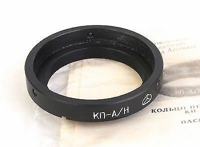 "KP-A/N Adapter Mount ""A"" Lens to Nikon F Mount Camera Jupiter 37A 11A Tair 3A 3S"