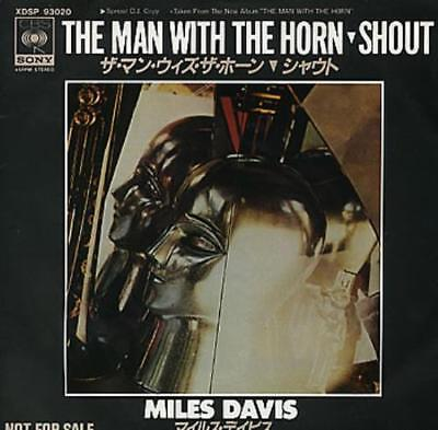 """Miles Davis The Man With The Horn 7"""" vinyl single record Japanese promo"""