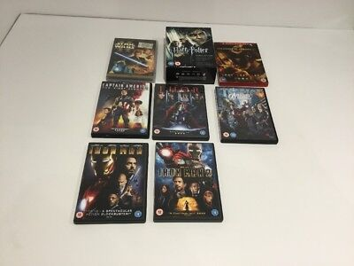 14 Boys Family Action DVDs Bundle Job Lot Preowned
