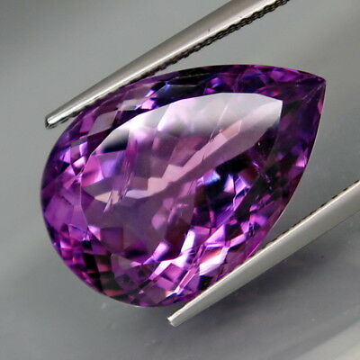 16.40Ct.Real Natural BIG Amethyst Bolivia None Treatment Full Fire&Nice Shape!