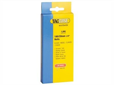 Tacwise 0361 Box of 1000 180 Series 18G 25mm Nails