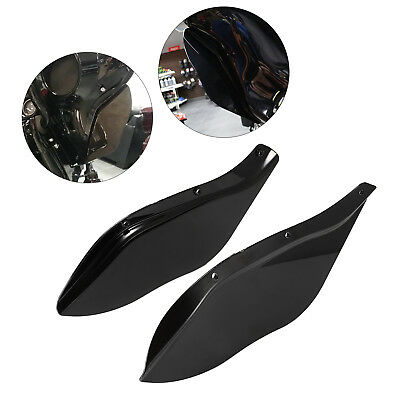 Wind Air Deflectors Windshields For Harley Touring FLHR FLHT FLHX 1996-2013 ABS