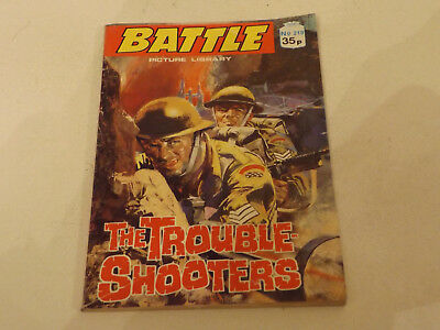 BATTLE PICTURE LIBRARY NO 219,dated 1989!,GOOD FOR AGE,VERY RARE,28 yrs old.