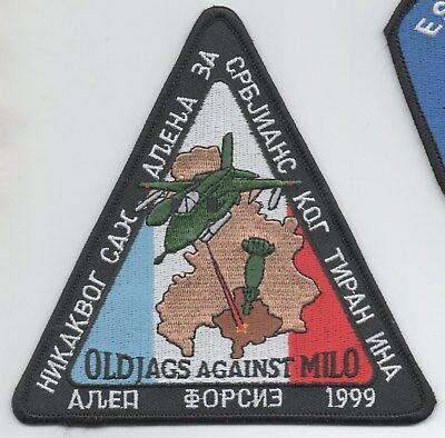 French Air Force Jaguars against Milosovic, Op Allied Force 1999 patch