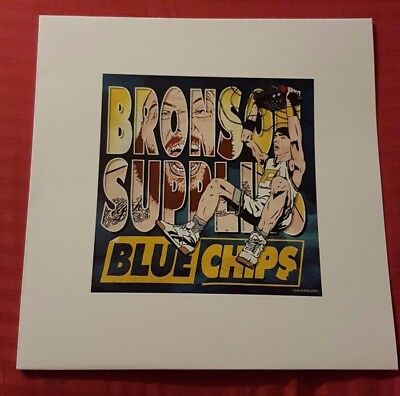 ACTION BRONSON - BLUE CHIPS / ***1 of 15?*** STUPID RARE LIME COLOURED VINYL !!!