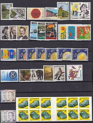 ♠ Luxembourg 2001 Annee Complete Neuve ** / Mnh Y&t 74 €