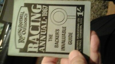 Racing and football outlook annual 1967