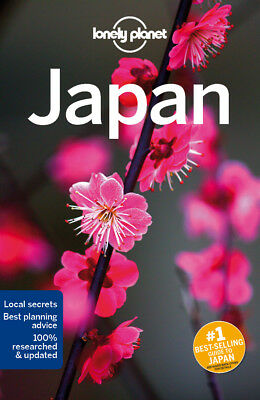 Lonely Planet Japan Travel Guide 2017 BRAND NEW 9781786570352