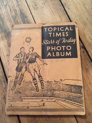 Topical Times Stars Of Today Photo Album