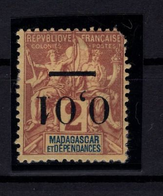 P42569/ Madagascar – Maury # 51 Ii Surch Renversee / Inverted Overprint 100 €