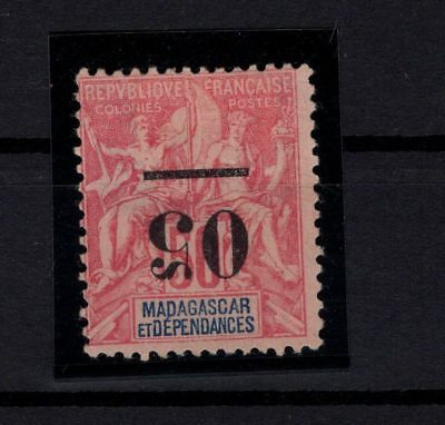 P42570/ Madagascar – Maury # 48 Surch Renversee / Inverted Overprint 150 €