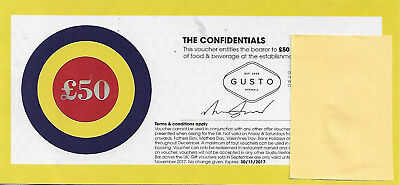 £50 voucher for food and beverage at Gusto, Heswall valid until 30 November 2017