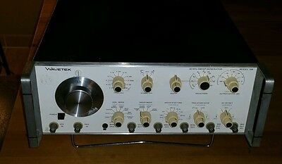 Wavetek 30 MHz Sweep Generator Model 164 Signalgenerator Top Zustand Made in USA