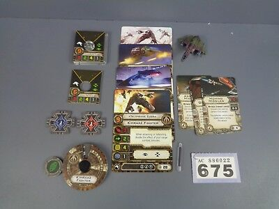 Wargaming Star Wars X Wing Clearance Kihraxz Fighter Lot 675