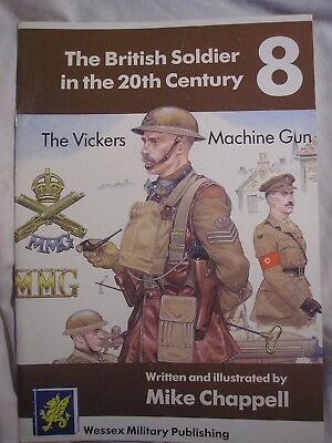 Vickers Machine Gun British Army Weapons Training History Military Uniform