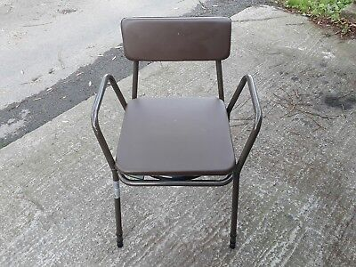 Compact Commode Chair with Adjustable legs
