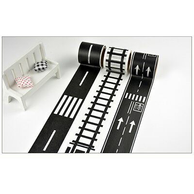 Traffic General Road Track Scotch Tape Japanese DIY Masking Washi Tape 5M 4063