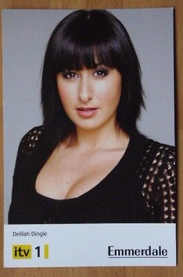 Official ITV  Cast Card, Emmerdale, Delilah Dingle   played by Hayley Tamaddon