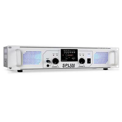 Pa Receiver Hifi Stereo Sound Endstufe Verstärker Radio Usb Sd Aux In Mp3 1600W