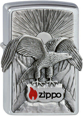 ZIPPO Eagle of Freedom and Flame emblem lighter - very rare collectible