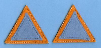 British  Army Sign Patch Pair--39th Independent Infantry Brigade Group, 2nd Type