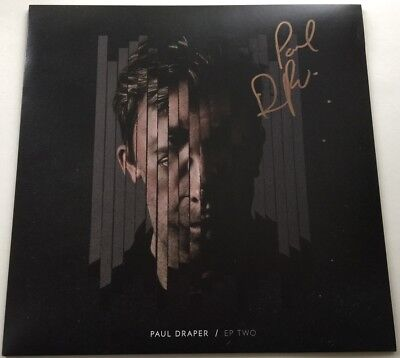 "Paul Draper Ep Two Signed Autographed 12"" Vinyl Ep Spooky Action Mansun Blur"