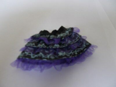 Monster High Clothes Purple Skirt Twyla