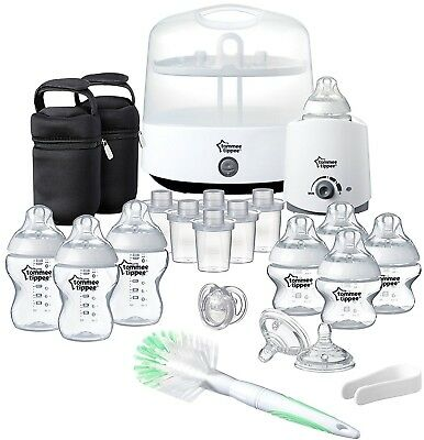 Tommee Tippee Complete Feeding Set (Closer to Nature) Baby Feeding Starter Kit