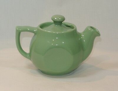 Vintage Restaurant Ware H F COORS Green CHEFSWARE Individual Teapot