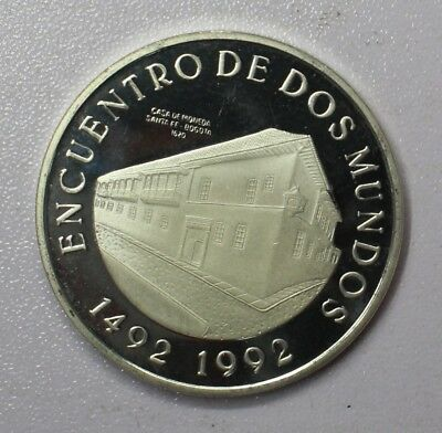 Colombia I Ibero American Series, Silver Proof coin 1992