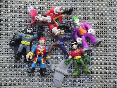 Fisher Price Imaginext Pirates & Superheroes action figure lot DC