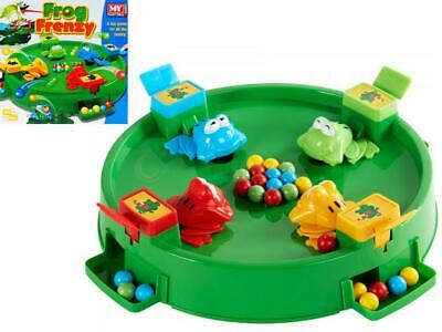 Frog Frenzy Board Game Children Kids Toy Hungry Frogs Hippos Game Christmas Gift