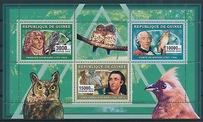 [ETA1883] Guinea 2006 : Owls - Good Very Fine MNH Sheet