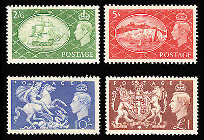 GB KGVI1951 High Values set of 4 very fine mint lightly hinged SG509/12 CV £100