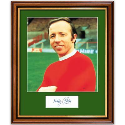 Nobby Stiles Photograph and Signature - Framed