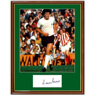 Martin Peters Photograph and Signature - Framed