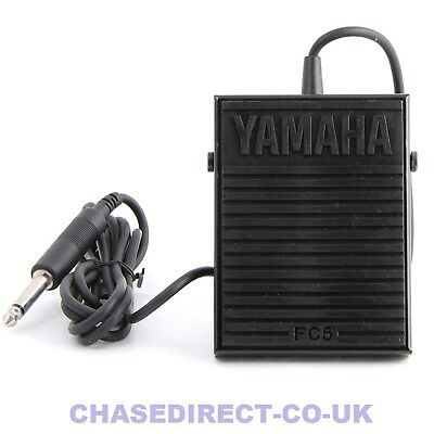 """Sustain Damper Pedal Foot Switch Yamaha FC5 FC-5 With 1/4"""" Jack"""