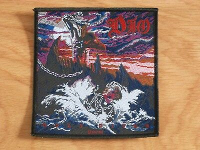 Dio - Holy Diver (Cover) (New) Sew On W-Patch Official Band Merch